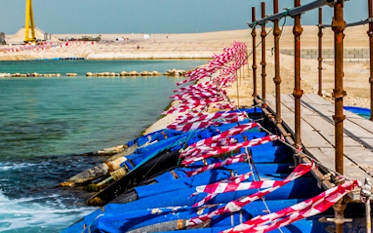 The rising water table under Doha poses a threat to drinking water, fish stocks and public health.