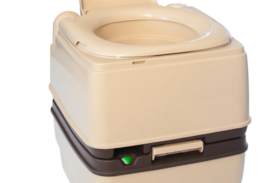 Composting toilets use no water, but instead condense waste into a biodegradable form.