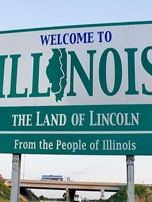 Large illinoiswelcomesign