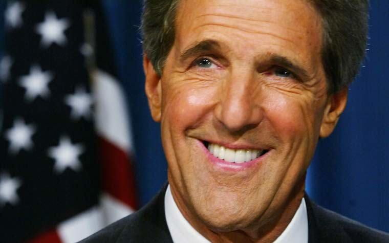 More than 650 people attended John Kerry's speech at Rice.