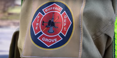 Medium buffalo grove fire patch