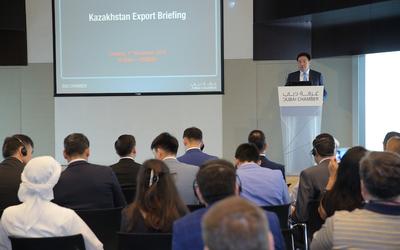 Dubai Chamber hosts Kazakhstan Export Briefing