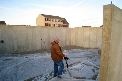 There are two primary types of home foundations used in the Austin area.