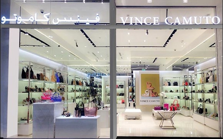 Vince Camuto opens first outlet in Qatar's Lagoona Mall.