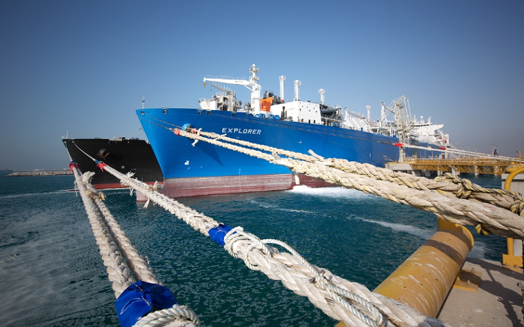 First gas-up operation at Jebel Ali LNG Import Terminal