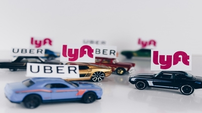 Medium uber lyft toy cars