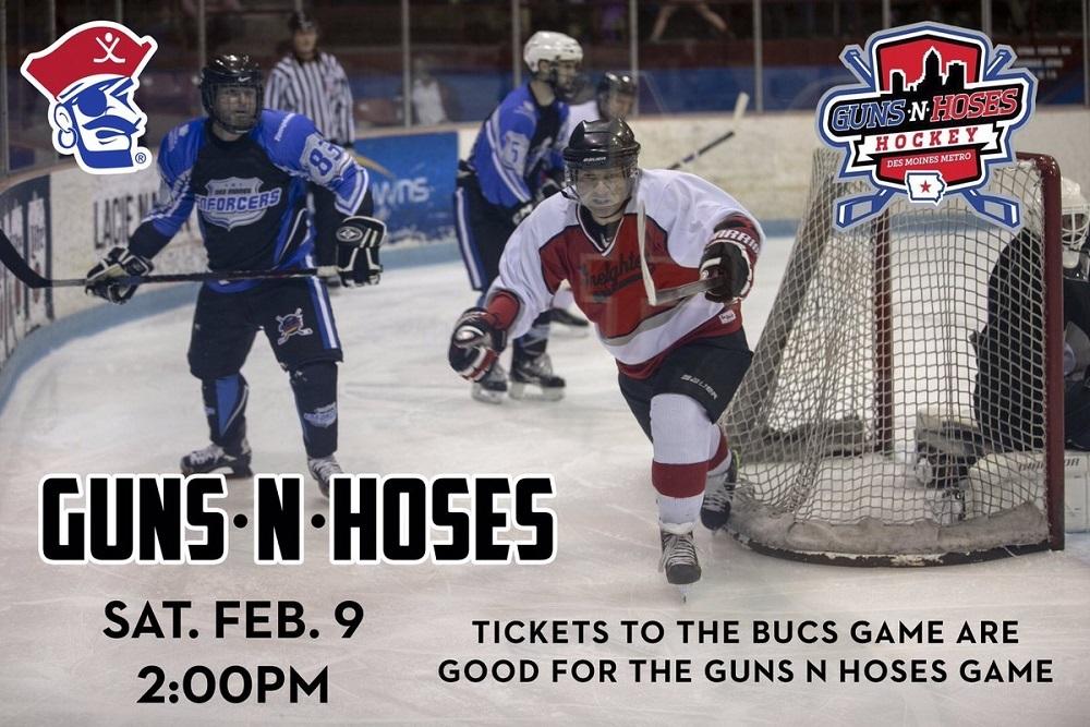 Des Moines Buccaneers Guns N Hoses Hockey Urbandale Times