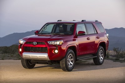 The Toyota 4Runner is known for its superb off-road performance.
