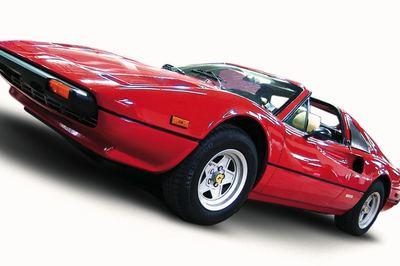 Magnum P.I. popularized the Ferrari 308 in 1980s.