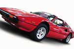 Magnum P.I. popularized the Ferrari 308 in 1980s.