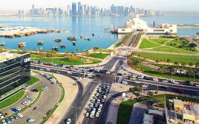 KBR recently continued its support of the Qatar thruway program.