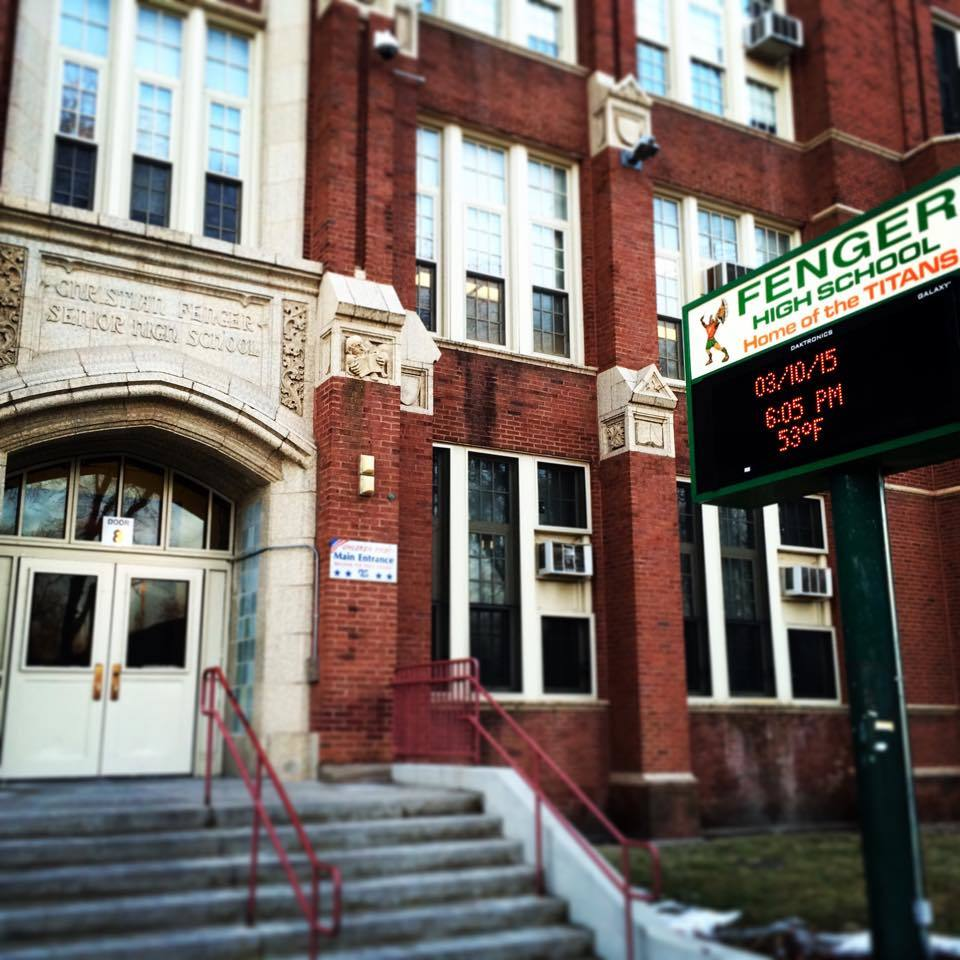 CPS keeps Fenger High School on Chicago's far South Side open, even though it has 271 students. The building once housed 5,300.