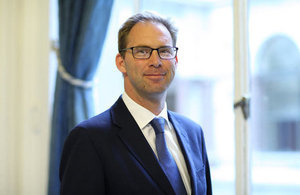 Foreign and Commonwealth Minister, Tobias Ellwood