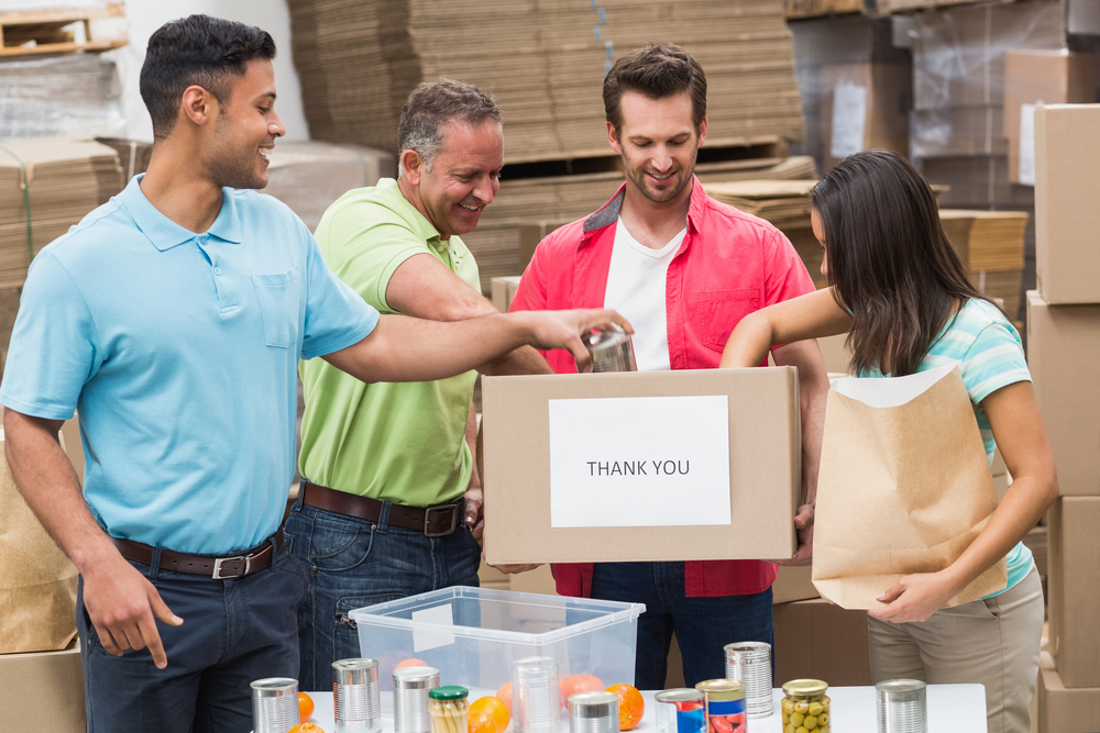 The donation from BJ's Charitable Foundation will help the Feeding America Member food bank.