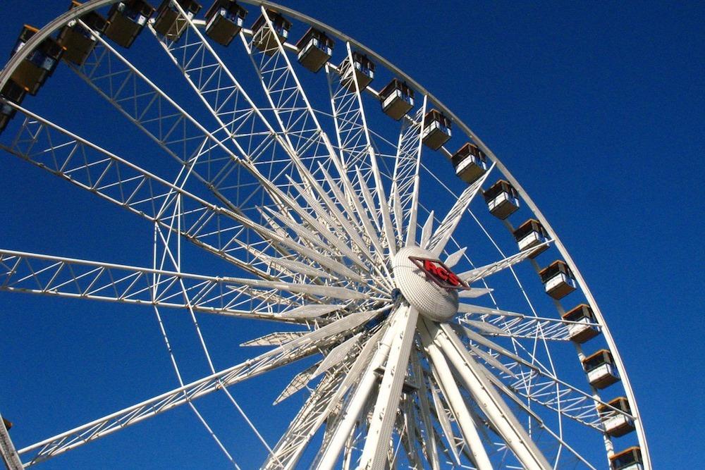 Ferris wheel(1000)