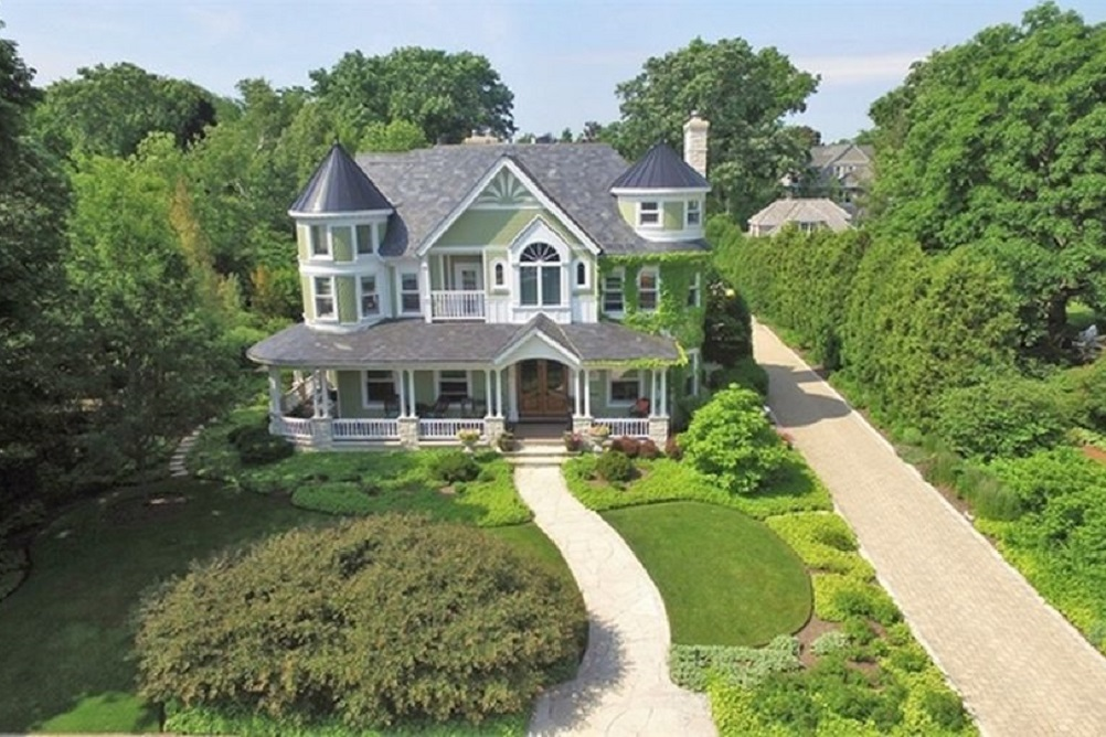 This six-bedroom home, 414 Warwick Road in Kenilworth, has been on the market for more than two years. It has a property tax bill of $68,943.