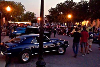The Rod Chopperz cruise-ins in downtown Belton run until midnight around the courthouse square.