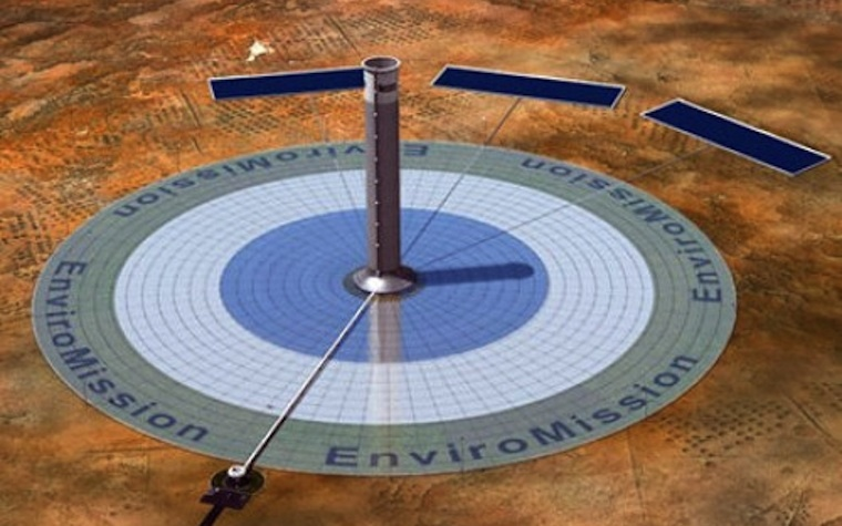 EnviroMission signs deal to develop solar towers in the Middle East.