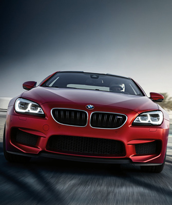 The M6 is aggressively powerful