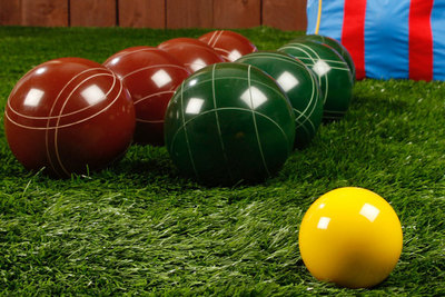 Bocce ball is an easy game to play and it takes minimal work in the yard to set it up. Some homeowners opt for building a court.