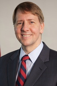 Richard Cordray, director of the U.S. Consumer Financial Protection Bureau, has filed a lawsuit against Security National Automotive Acceptance Company for allegedly violating federal law when attempting to collect on debts.