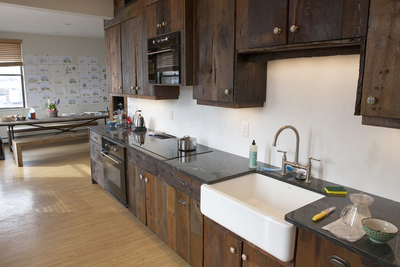 Farmhouse kitchens are very popular, but Austin residents want modern comfort to go with their rustic charm.