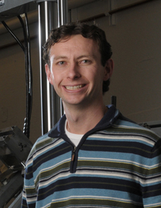 Kip Findley, principal investigator of a U.S. Department of Energy funded project studying the degradation mechanisms for sodium fast reactors.