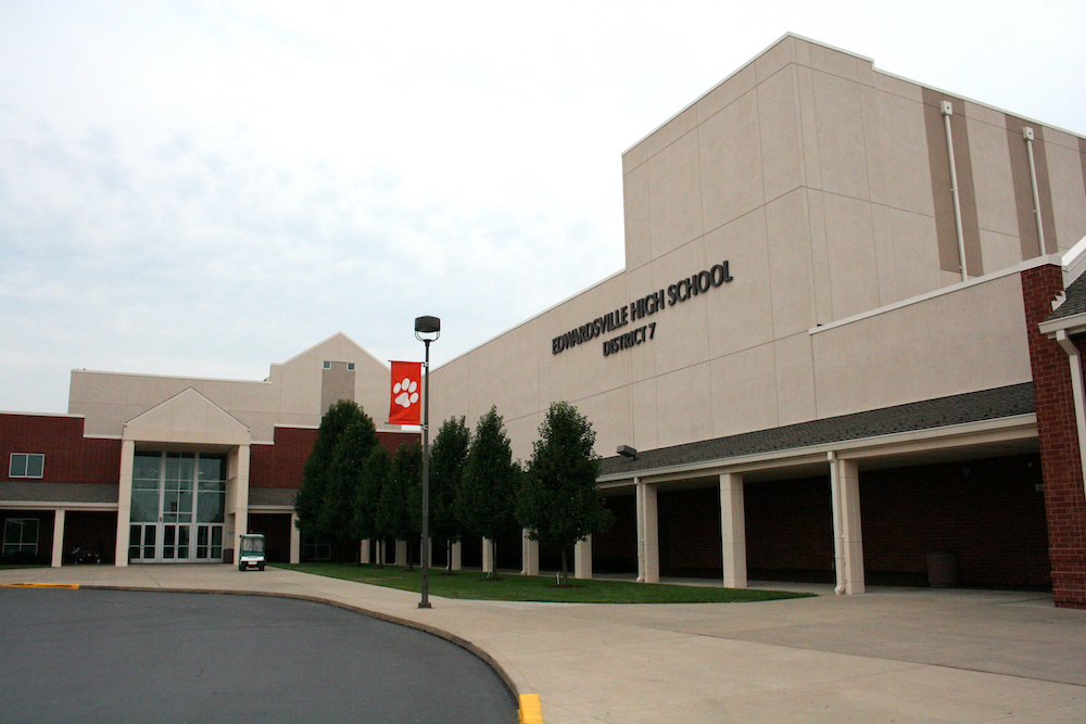 With $135 million in debt, Edwardsville Community Unit School District 7 is on the state's financial watch list. Its debt is weighing on home values in the district.