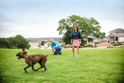 The newest park in Rancho Sienna is designed especially for the community's four-legged residents.