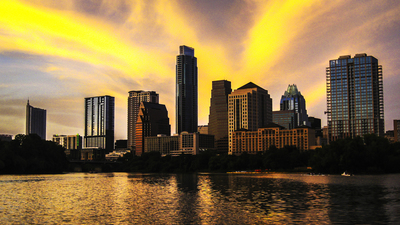 The sun is setting on another year for Austin's healthy economy.