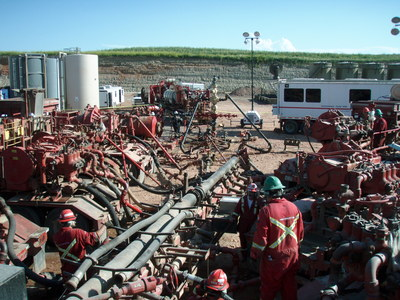 Hydraulic fracturing in North Dakota