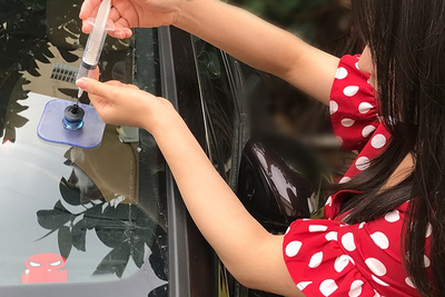 There are resin-based solutions to prevent the need to replace car windshields after minor damage.