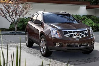 2016 Cadillac SRX is a hefty, but classy crossover.