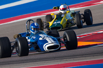 The cars of yesteryear will take to the Formula One track at COTA the first weekend in November.