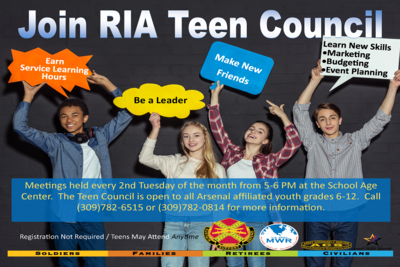 Medium teen council flyer
