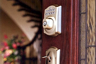 Keyless-entry locks are becoming more affordable and soon may be the standard for front doors.