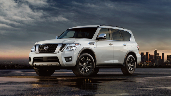 Family-friendly and powerful, this SUV is ready to hit the road.