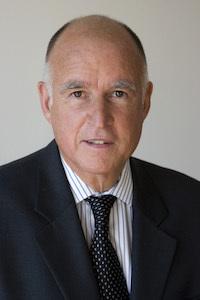 California Gov. Edmund G. Brown