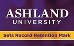 """Having achieved an 80 percent retention rate is a significant achievement for Ashland University,"" Ashland Center for Academic Support Director Ronald Mickler said."