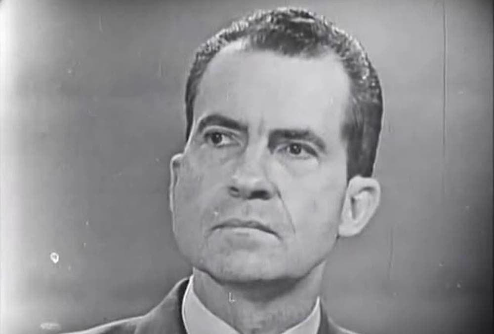 Former President Richard M. Nixon