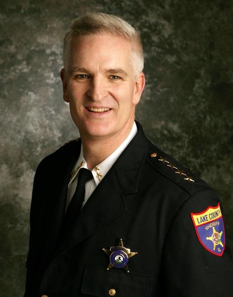 Mark Curran, Sheriff in Lake County