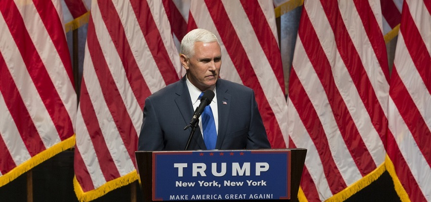Mike Pence, from the press conference announcing his selection as Donald Trump's running mate, July 16