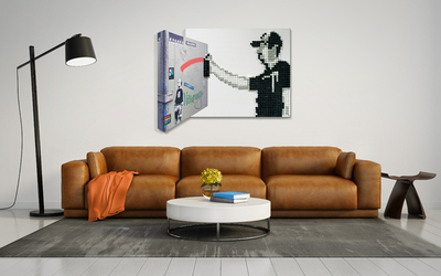 White is coming back in popularity for people with modern furniture and art to show off.