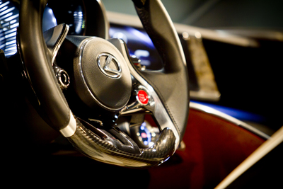 Steering wheel aspects --- such as color, spoke number and size -- can help bring out your car's character.
