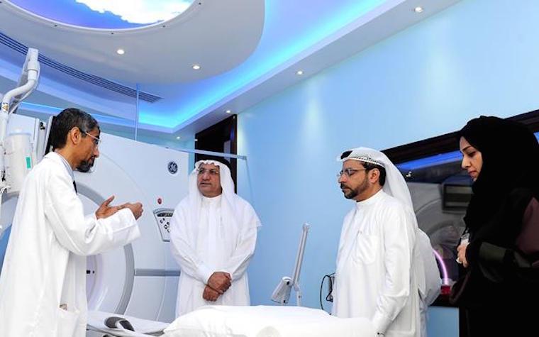 Dubai Health Authority board chairman tours Dubai Hospital's newly expanded facilities
