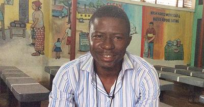 Dr. Moses Soka runs the newly opened Ebola Suvivors Clinic in Monrovia