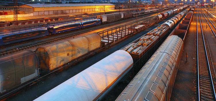 Eastcomtrans railway locomotives.