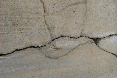 Cracks in walls or flooring could be a sign of foundation problems.