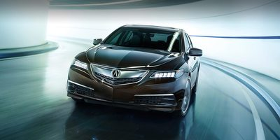 Acura TLX on road