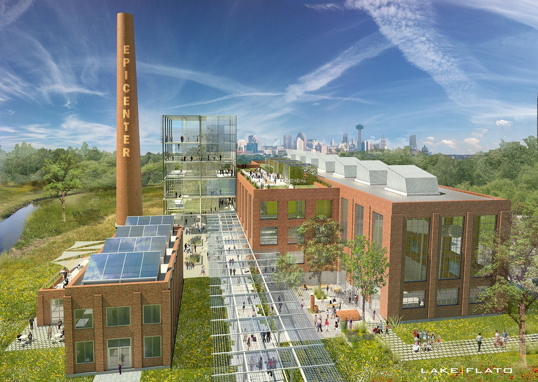 Themodern center will transform the historic Mission Road Power Plant into a world-renowned energy producer.